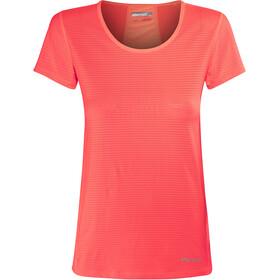 Marmot Aero Camisa Manga Corta Mujer, neon coral
